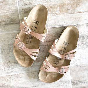 |•Birkenstock•| Rose gold Slides